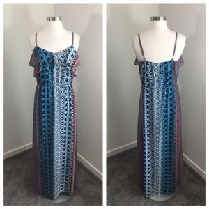 INC International Concepts maxi dress
